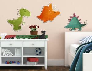 Dinosaurs αφρώδη τριών επιπέδων M