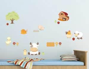 Baby Farm αυτοκόλλητα τοίχου L