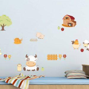 Baby Farm αυτοκόλλητο τοίχου