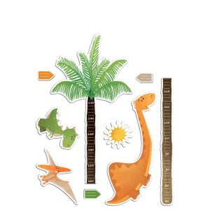 Dinosaurs υψομετρητής αφρώδης αυτοκόλλητος Large