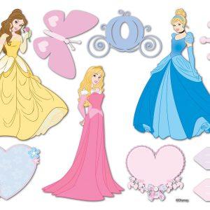 Princess Disney διακοσμητικός υψομετρητής τοίχου Medium-Large
