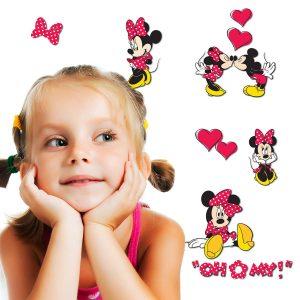 Minnie Mouse Disney διακοσμητικά αυτοκόλλητα τοίχου 3 επιπέδων