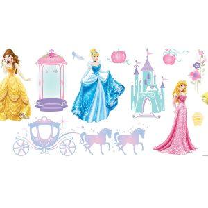 Princess Disney διακοσμητικά αυτοκόλλητα τοίχου Large