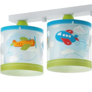 Baby Planes φωτιστικό οροφής τρίφωτο