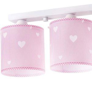 Sweet Dreams Pink φωτιστικό οροφής τρίφωτο