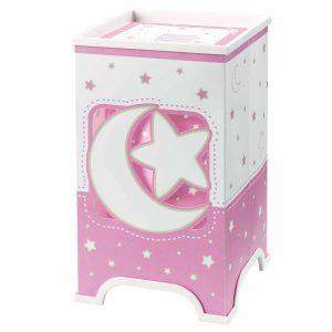Pink Moon φωτιστικό κομοδίνου LED