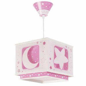 Pink Moon φωτιστικό οροφής φωσφορίζον