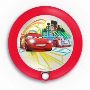 Cars Disney φωτιστικό νυκτός με αισθητήρα κίνησης LED