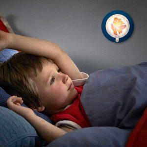 Spiderman φωτιστικό νυκτός με αισθητήρα κίνησης LED