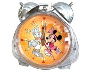 Daisy & Minnie ρολόι ξυπνητήρι