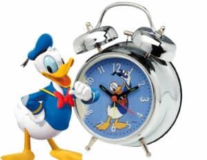 Donald Disney ρολόι ξυπνητήρι