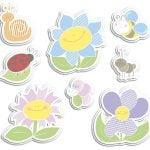 Smiling Flowers αφρώδη οκτώ στοιχείων M