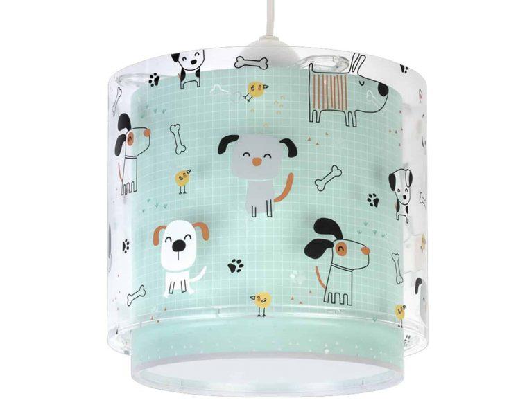61312 Happy Dogs κρεμαστό παιδικό φωτιστικό οροφής