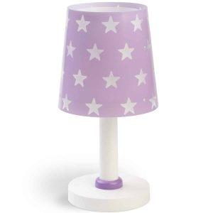 Stars Purple κομοδίνου φωτιστικό