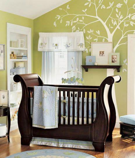 Πως να επιλέξτε χρώμα για ένα βρεφικό δωμάτιο για αγόρι