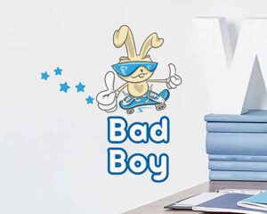 Bad Boy αυτοκόλλητα τοίχου XS