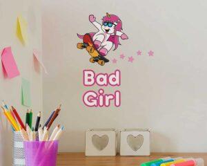 Bad Girl αυτοκόλλητα τοίχου XS