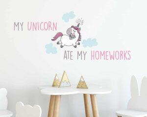 My Unicorn αυτοκόλλητα τοίχου ML