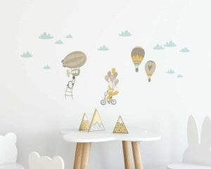 Air Balloon αυτοκόλλητα τοίχου ML