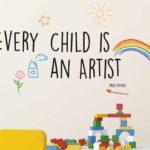 Artist αυτοκόλλητα με μήνυμα τοίχου L