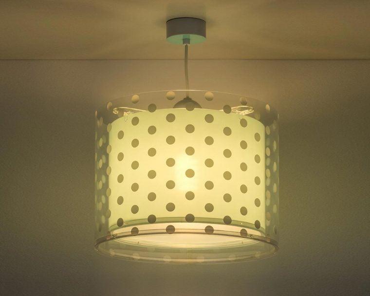 41002 H DOTS GREEN κρεμαστό οροφής διπλό τοίχωμα
