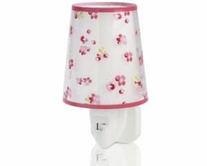 Dream Flowers Pink φωτιστικό νύκτας πρίζας LED
