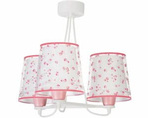 Dream Flowers Pink κρεμαστό τρίφωτο οροφής