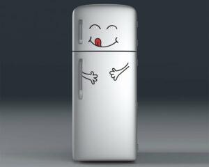 Happy Face αυτοκόλλητα ψυγείου ML