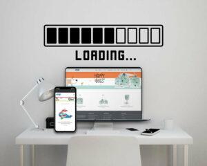 Loading αυτοκόλλητα τοίχου ML