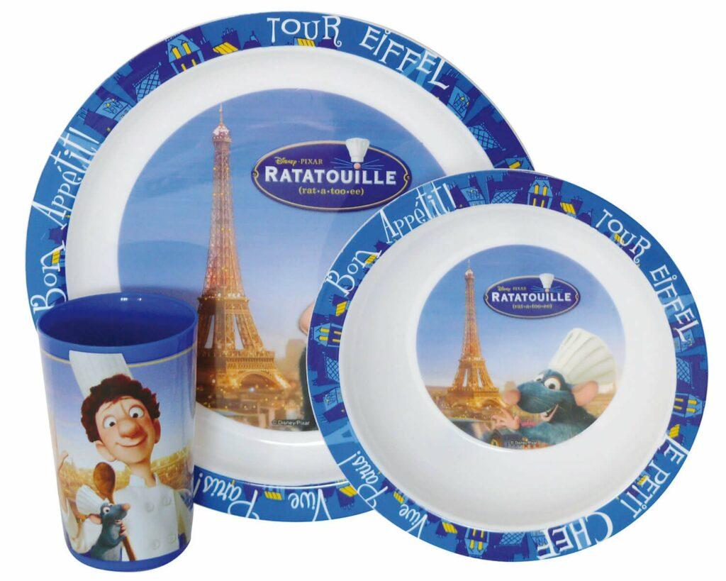 Ratatouille Disney σερβίτσιο τριών τεμαχίων
