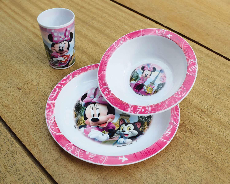 Minnie Disney σερβίτσιο τριών τεμαχίων
