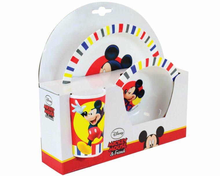 Mickey Disney σερβίτσιο τριών τεμαχίων