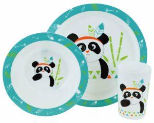 Indian Panda σερβίτσιο φαγητού