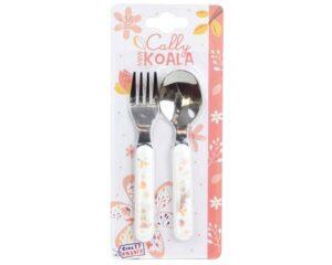 Koala σετ κουτάλι πιρούνι