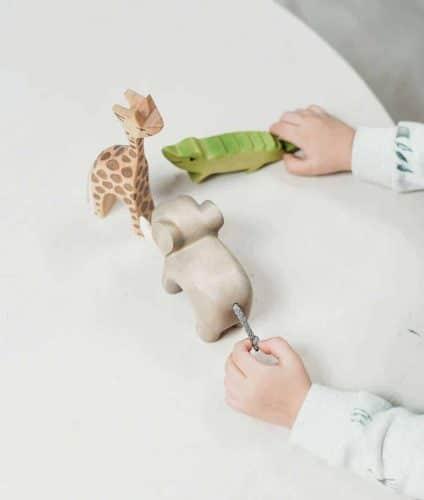 child-wooden-animal